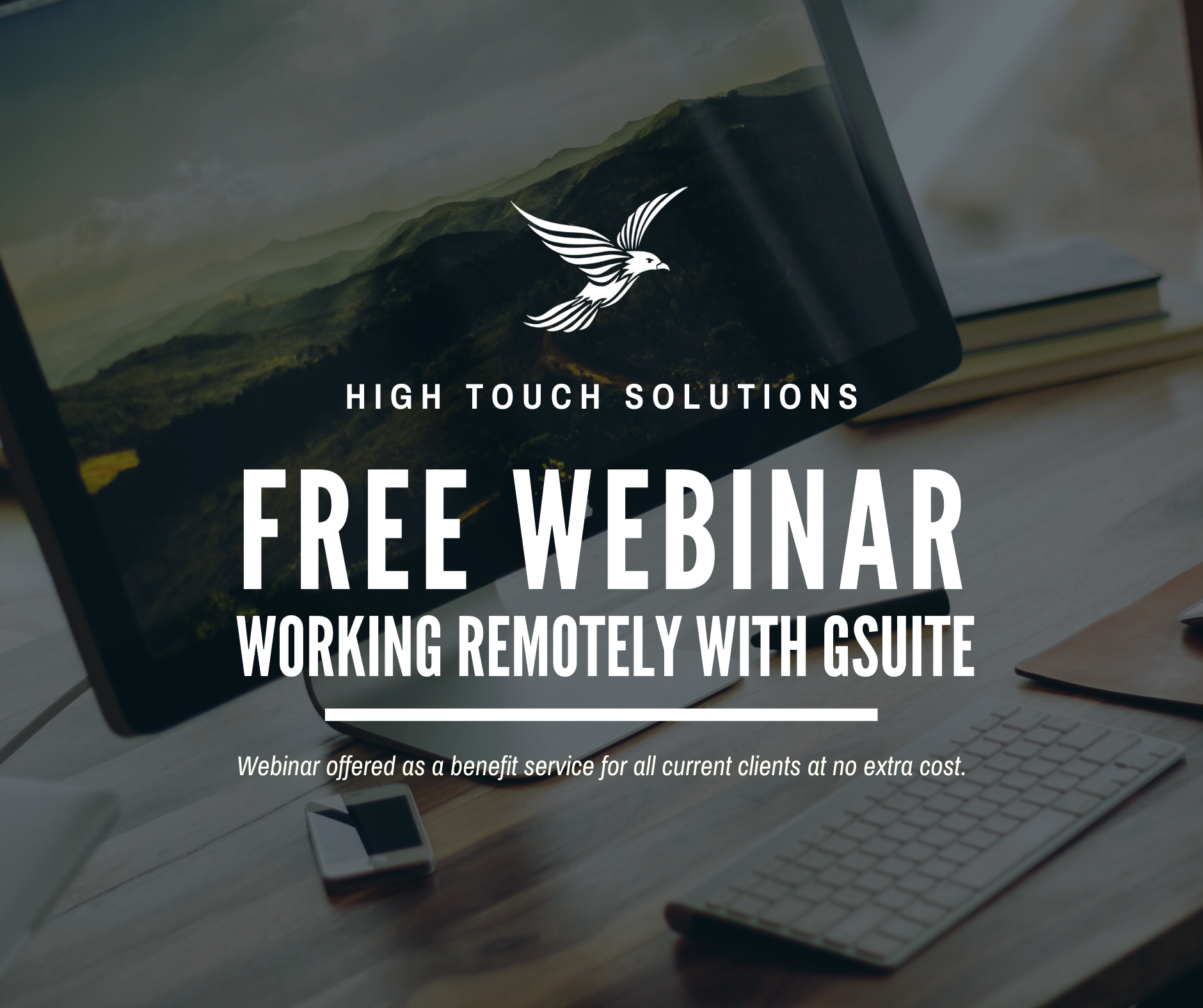 blog: free webinar- working remotely with gsuite